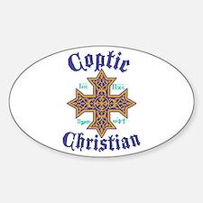 Coptic Christian Decal