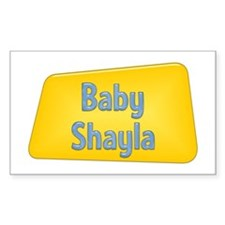 Baby Shayla Rectangle Decal