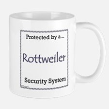 Rottweiler Security Mug