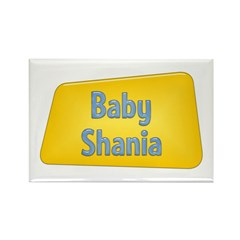 Baby Shania Rectangle Magnet