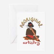 Aboriginal Artistry Greeting Cards