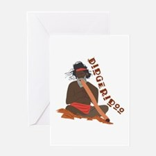 Didgeridoo Greeting Cards