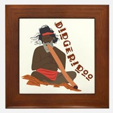 Didgeridoo Framed Tile