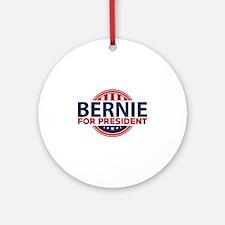 Bernie For President Ornament (Round)