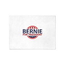 Bernie For President 5'x7'Area Rug