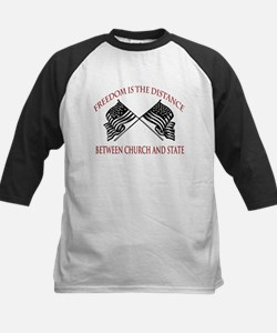 Freedom is the Distance Tee