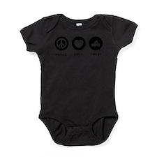 Cute Needles Baby Bodysuit