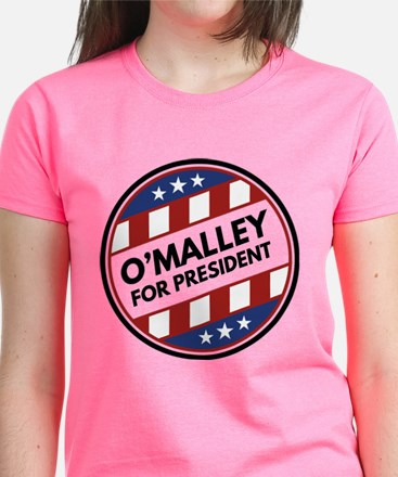 O'Malley For President Tee