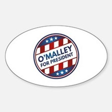 O'Malley For President Decal