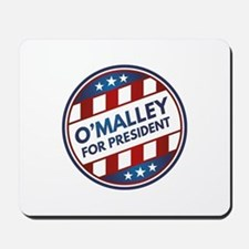 O'Malley For President Mousepad