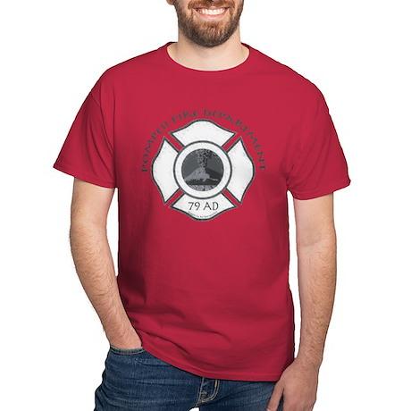 Pompeii Fire Department Dark T-Shirt