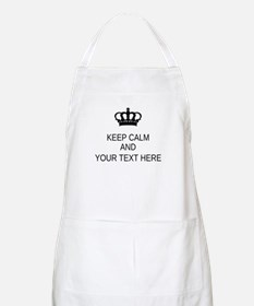 Personalized Keep Calm Apron