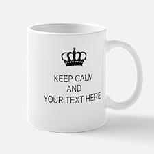 Personalized Keep Calm Mug Mugs