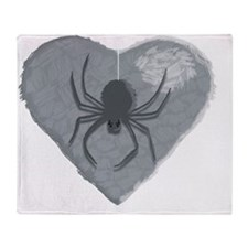 Stoneheart Halloween spider Throw Blanket