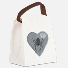 Stoneheart Halloween spider Canvas Lunch Bag