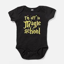 I'm off to MAGIC school Baby Bodysuit