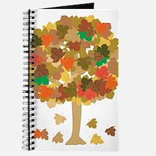 Cute Autumn leaves aspen leaves Journal