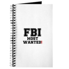 FBI - MOST WANTED! Journal