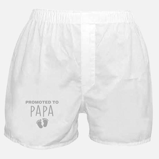 Promoted To Papa Boxer Shorts