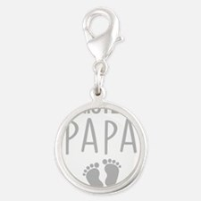 Promoted To Papa Charms