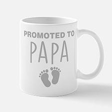 Promoted To Papa Mugs