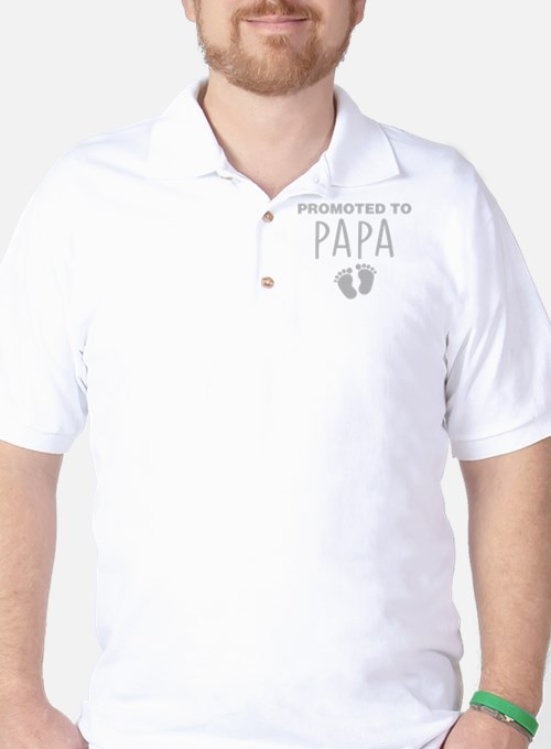 Promoted To Papa T-Shirt