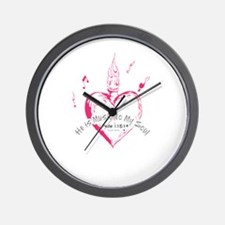 Funny Hollister dudes Wall Clock
