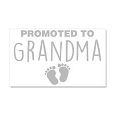 Promoted To Grandma Car Magnet 20 x 12