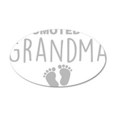 Promoted To Grandma Wall Decal