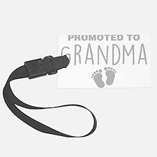 Promoted To Grandma Luggage Tag