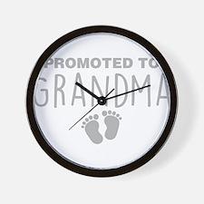 Promoted To Grandma Wall Clock