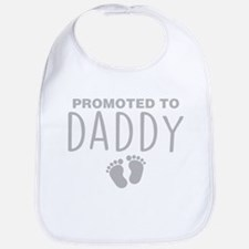Promoted To Daddy Bib