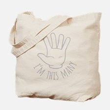 Im This Many Five Tote Bag