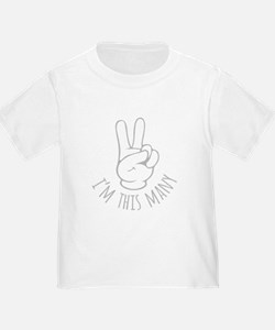 Im This Many Two T-Shirt