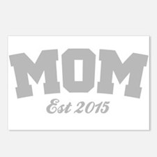 Mom Est 2015 Postcards (Package of 8)