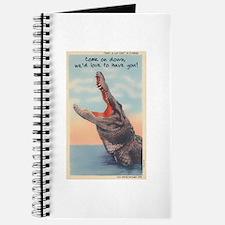 Alligator Invitation Journal