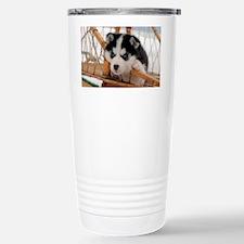 Husky puppy 2 Travel Mug