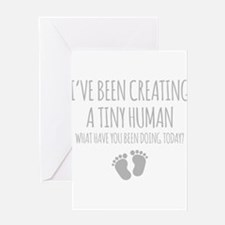 Ive Been Creating A Tiny Human Greeting Cards