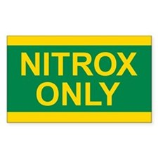 NITROX Tank Decal