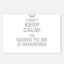 I Cant Keep Calm! Im Going To Be A Grandma Postcar