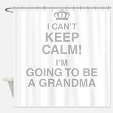 I Cant Keep Calm! Im Going To Be A Grandma Shower