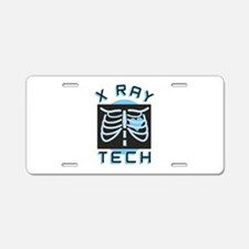 X-Ray Tech Aluminum License Plate