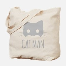 Cat Man Tote Bag