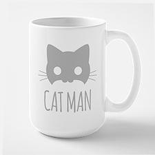 Cat Man Mugs
