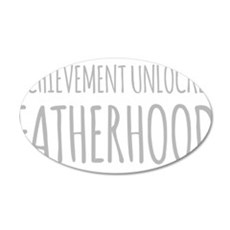 Achievement Unlocked Fatherhood Wall Decal