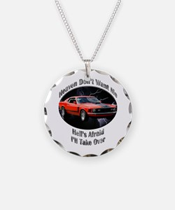 Ford Mustang Boss 351 Necklace