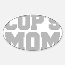 Cops Mom Decal