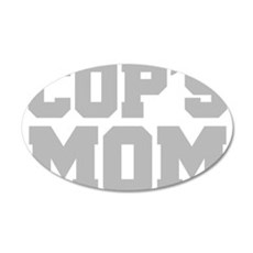 Cops Mom Wall Decal