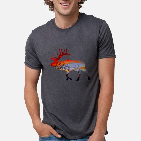 Sunset elk T-Shirt
