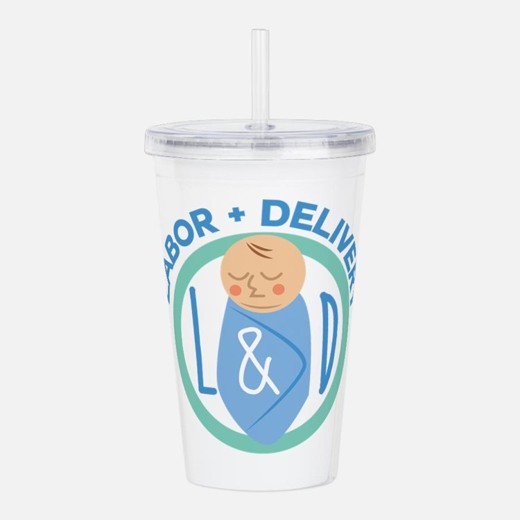 Labor And Delivery Acrylic Double-wall Tumbler